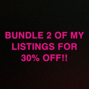 Don't forget to bundle & save!😍🤩